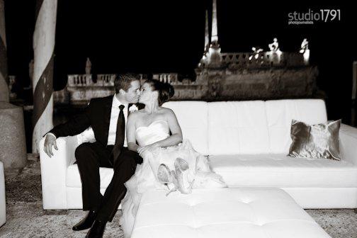 Wedding picture of Alexandra C. Mantilla and Jean Paul van Romondt
