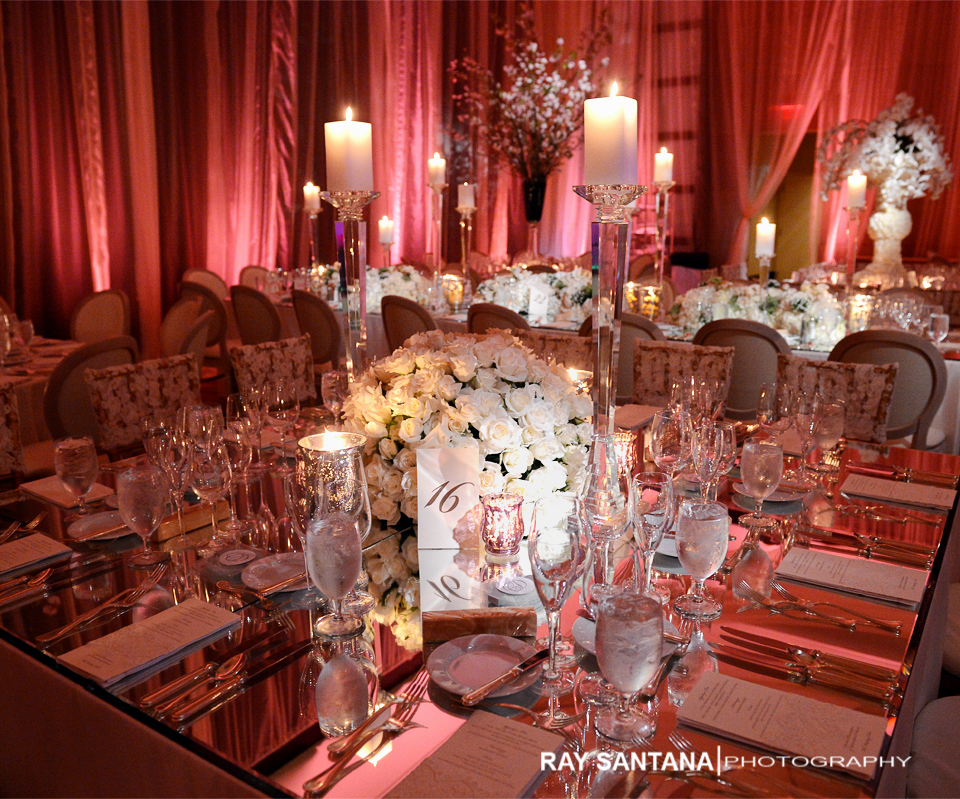 Mandarin Oriental Hotel Miami wedding detail pictures