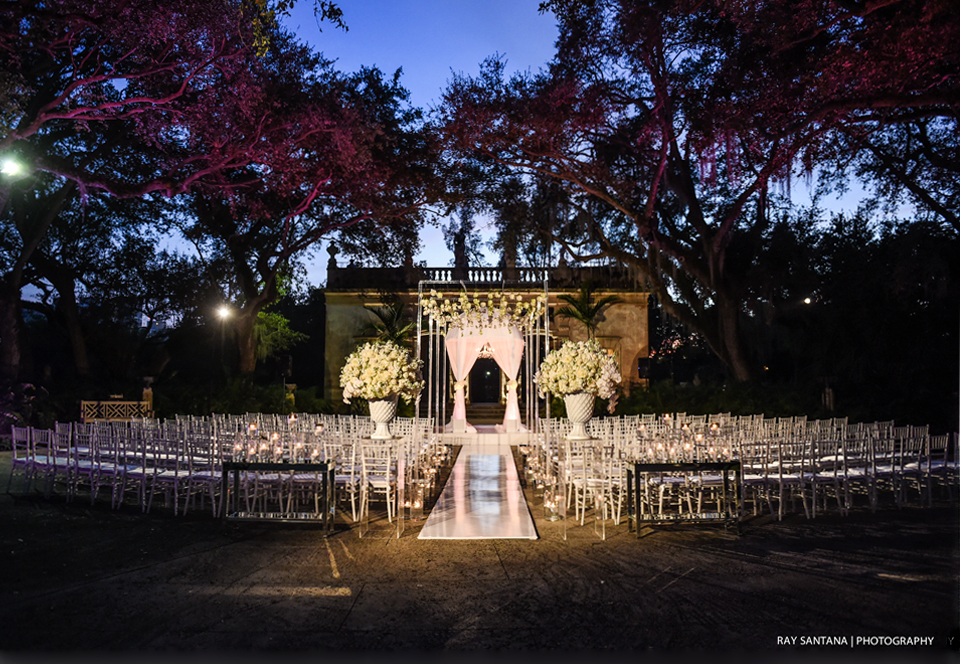 vizcaya museum and gardens wedding planner