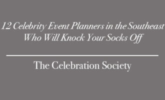 12 Celebrity Event Planners | The Celebration Society