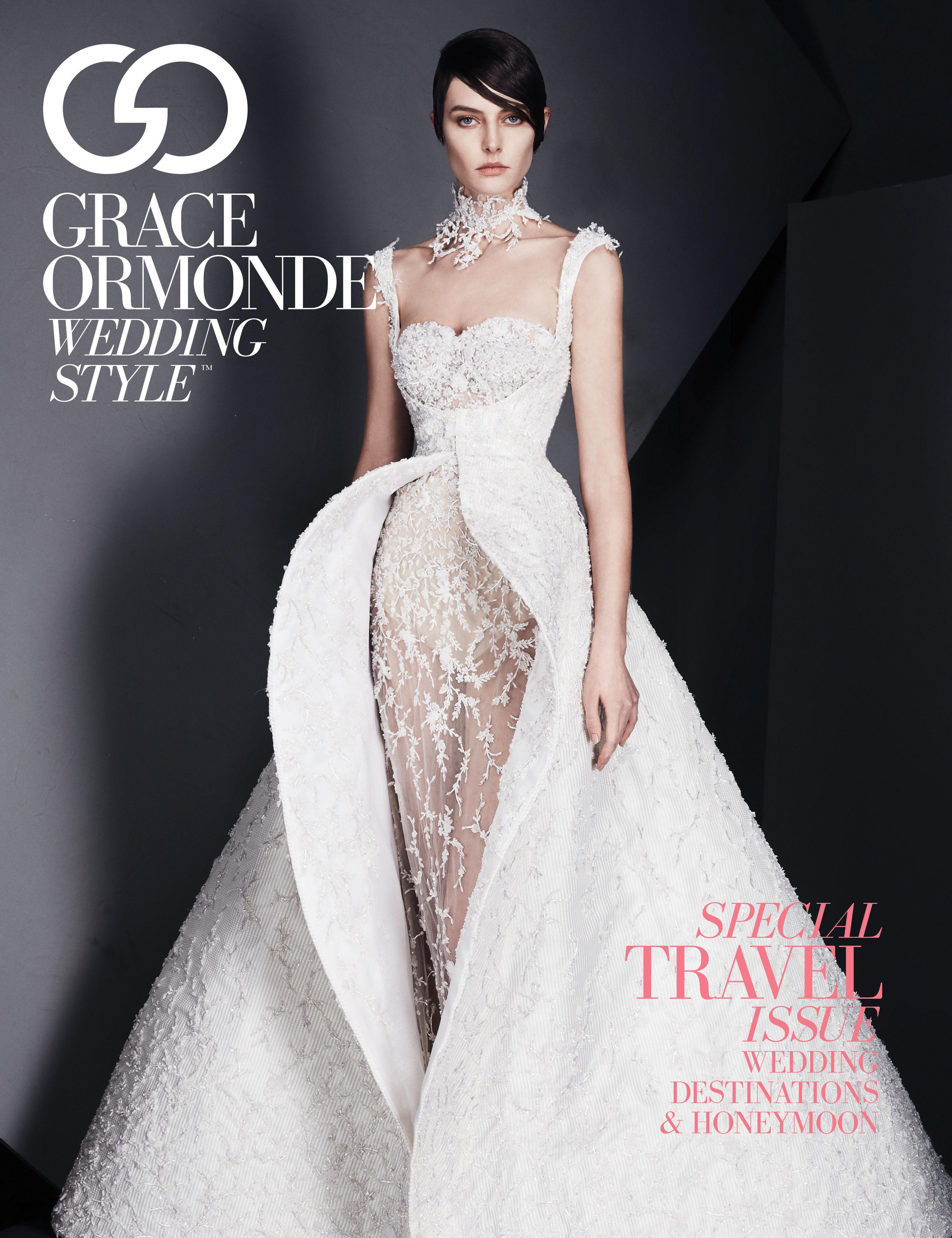 Lourdes Milian Featured in Grace Ormonde Wedding Style Magazine: Summer 2017 Issue